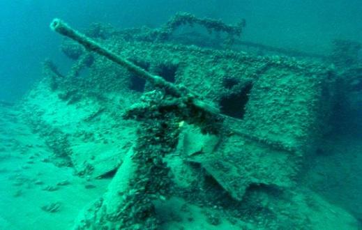 Затонувшие суда Ялты