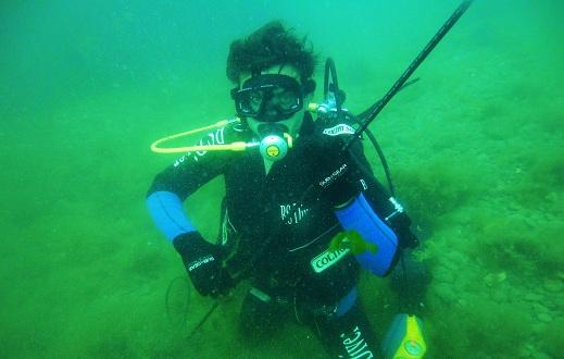 Старт подводной охоты.