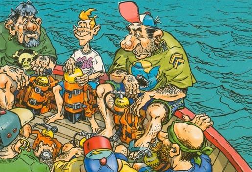 Баболазы и подводочники